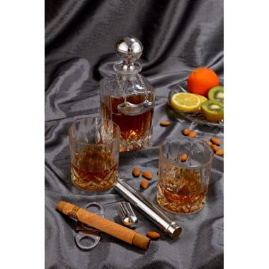 """2851 Набор для виски,графин, 2 бок, """"Sigaro"""""""